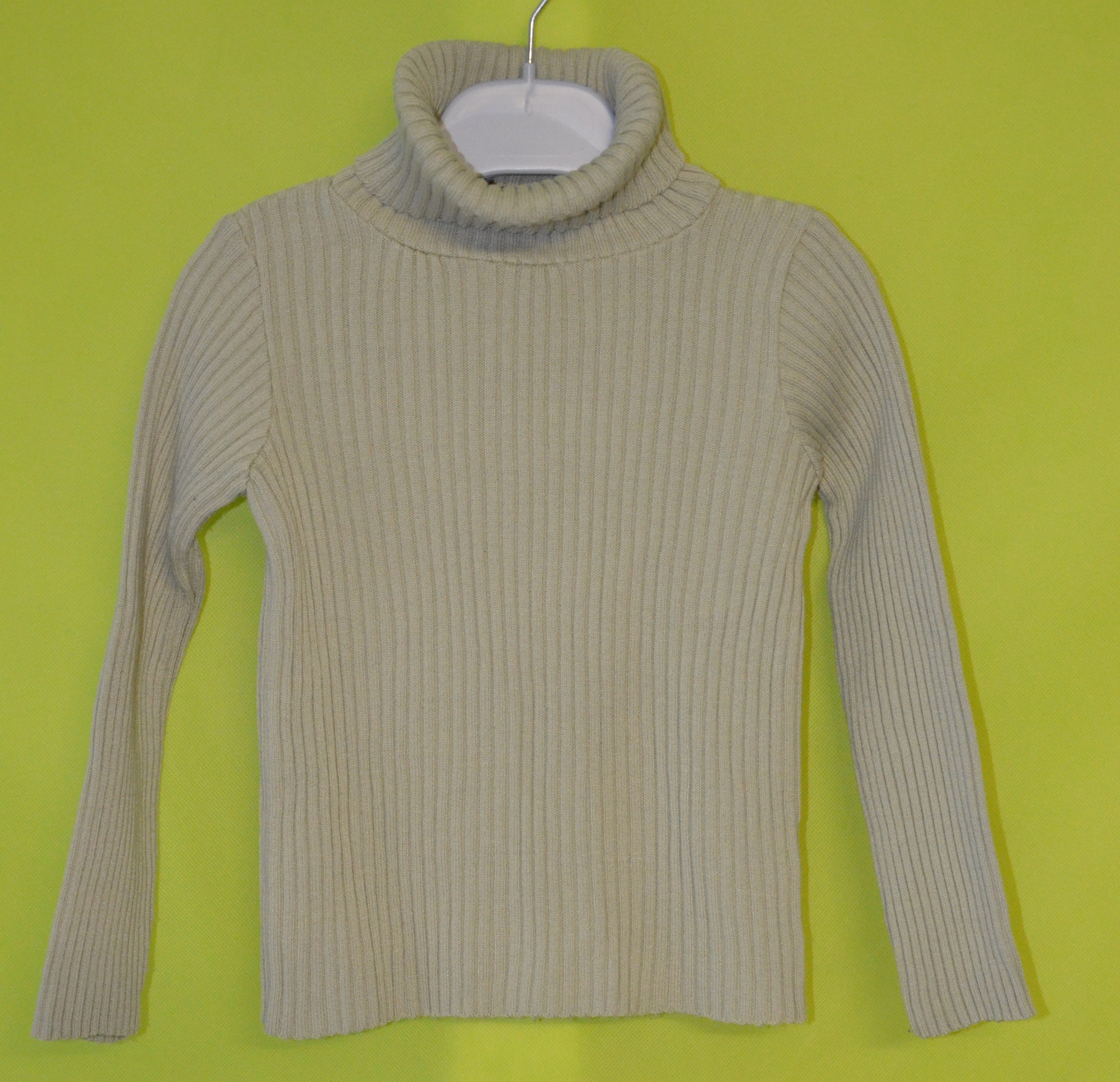 pull 5 ans fille vert anis salso bamba occasion