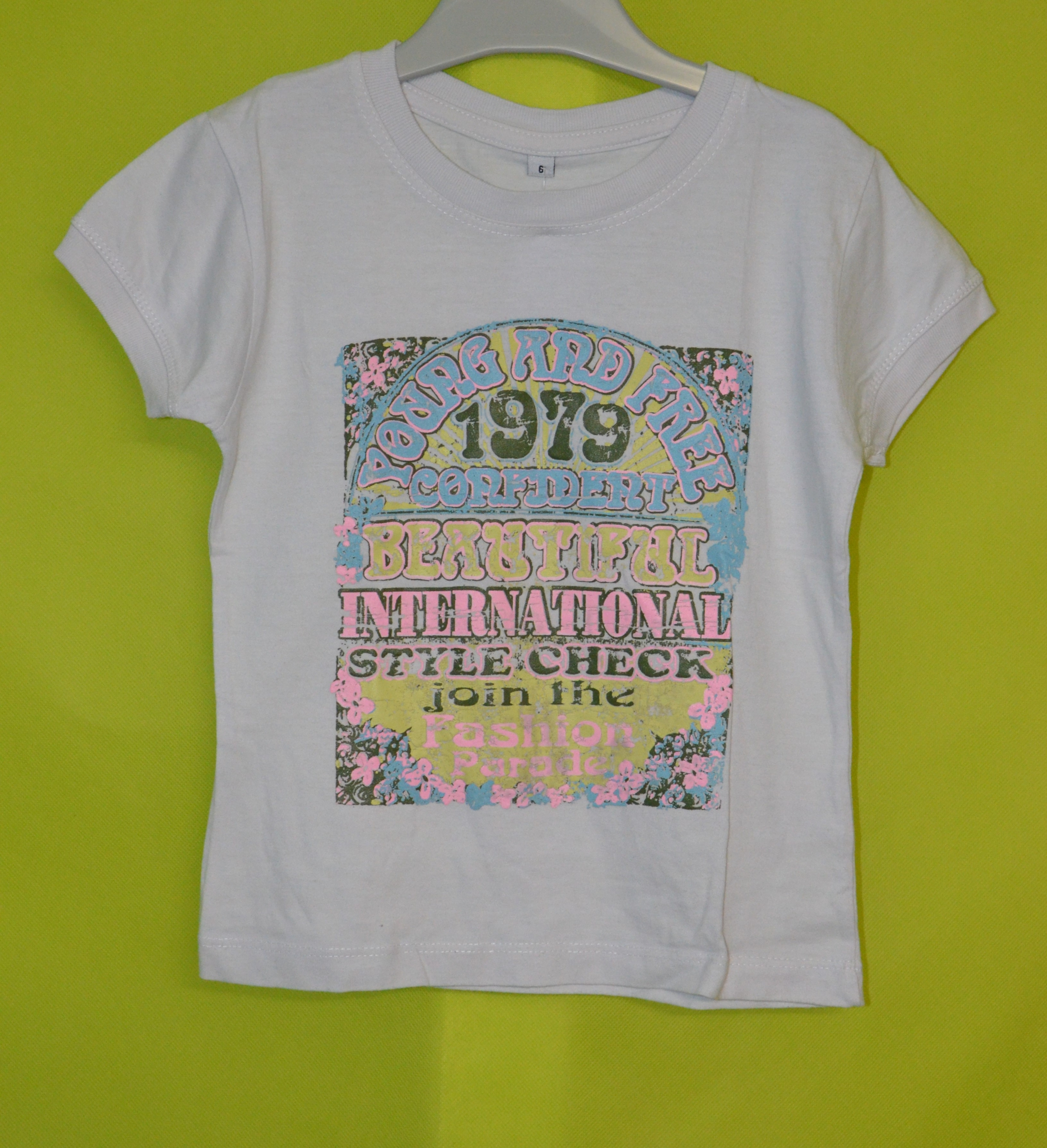 tee shirt 6 ans fille blanc  occasion