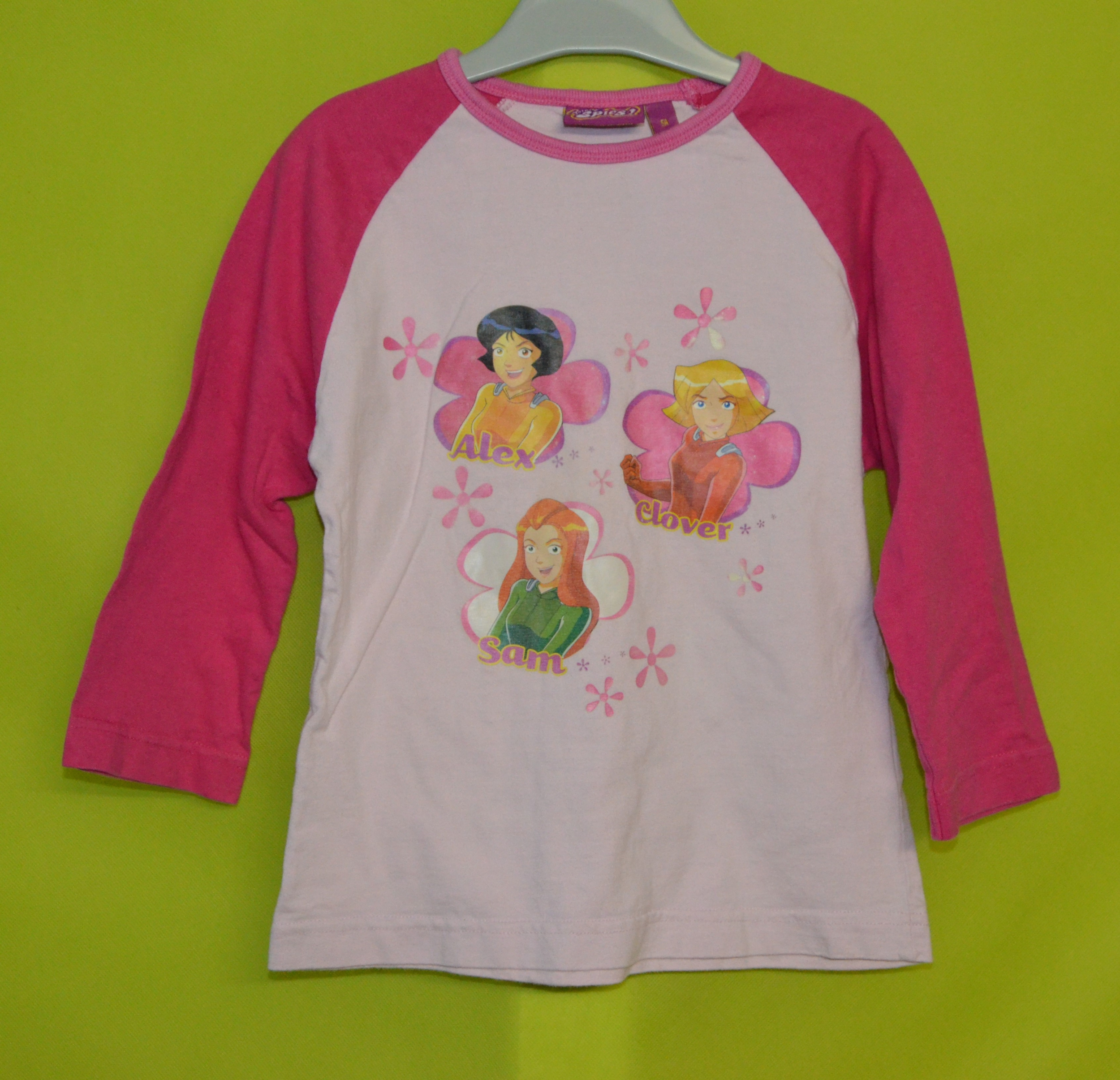 tee-shirt manches longues 5 ans fille rose totally spies occasion