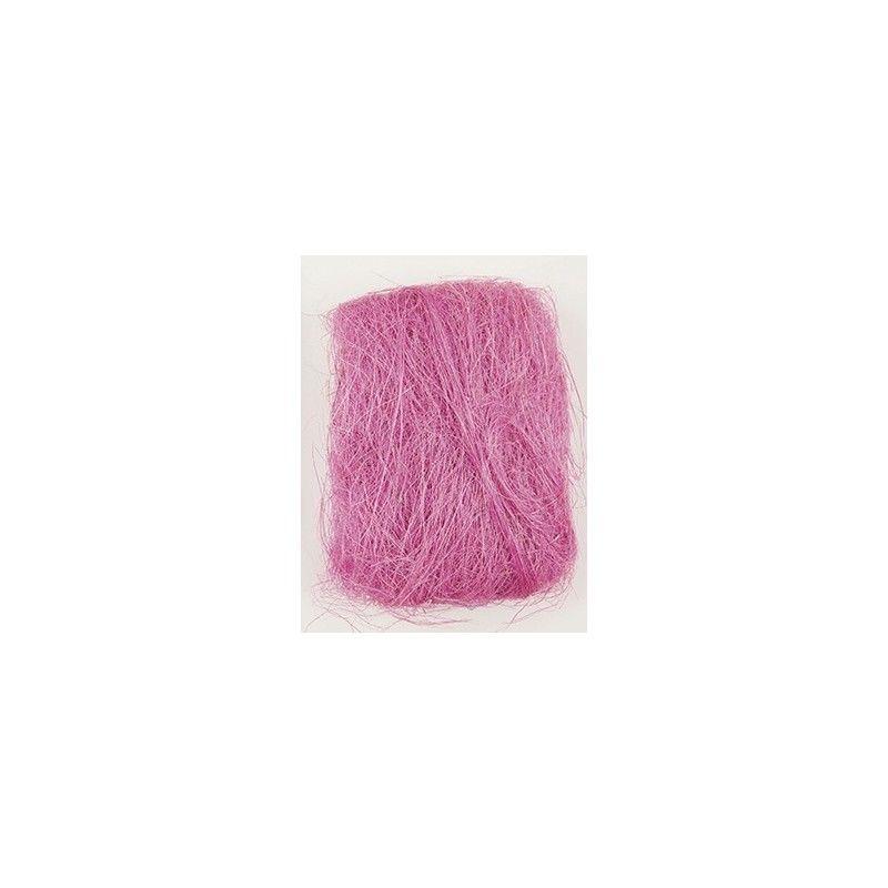 fibre sisal 30 grammes fushia