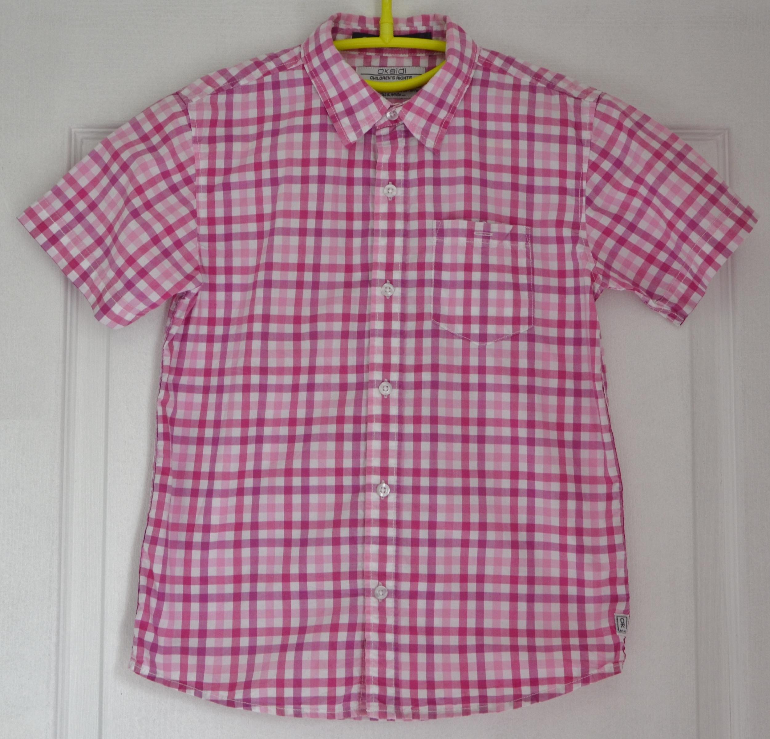 chemise fille rose 10 ans okaidi