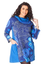 Robe aller simplement grande taille rop524