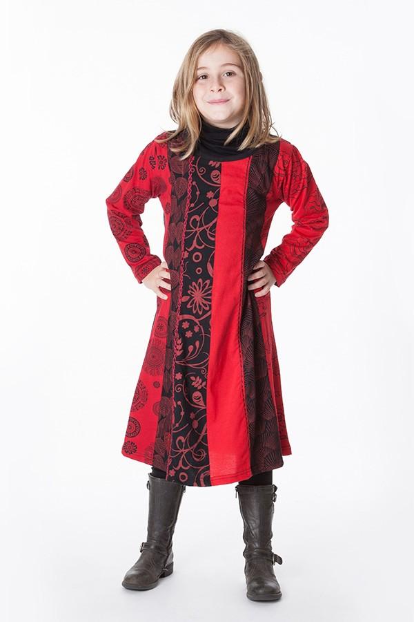 robe ethnique fille aller simplement vetement ethnique KIDRO300