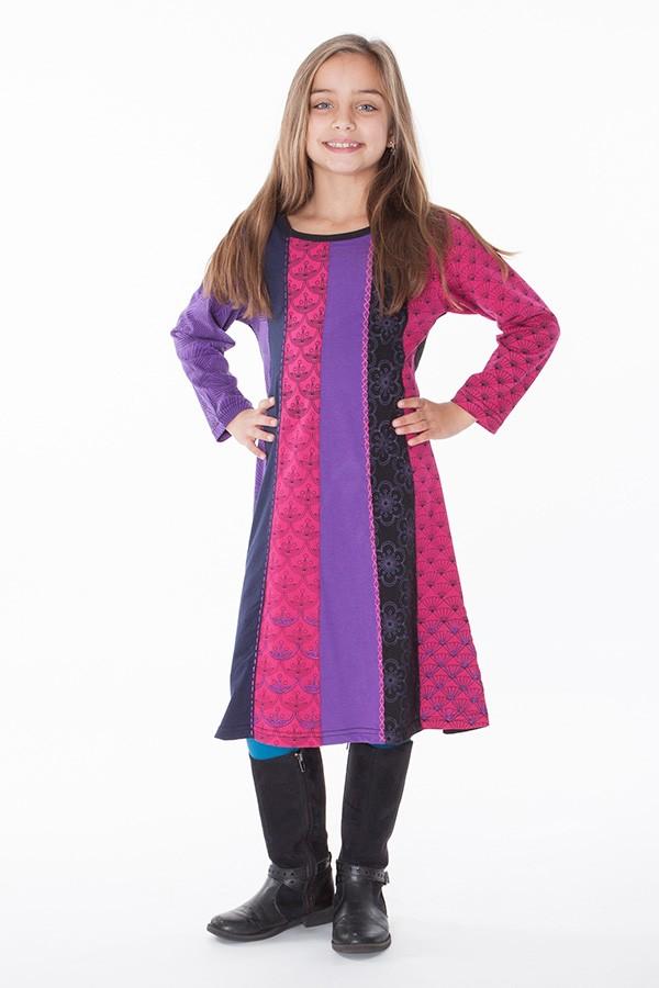 robe ethnique fille aller simplement vetement ethnique KIDRO302