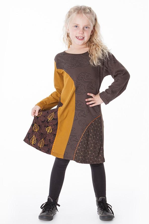 robe ethnique fille aller simplement vetement ethnique KIDRO305