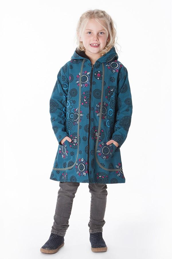 manteau polaire ethnique fille aller simplement KIDVE400 3 ans au 10 ans