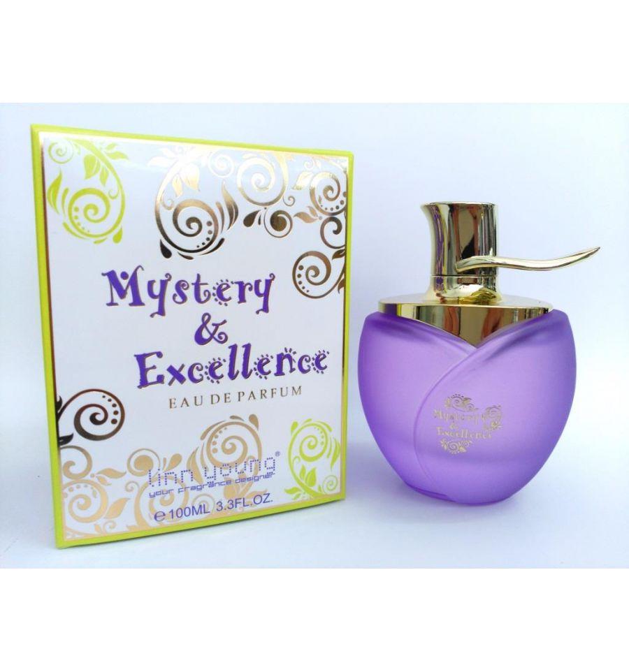 eau de parfum mystery et excellence de linn young 100 ml pour femme