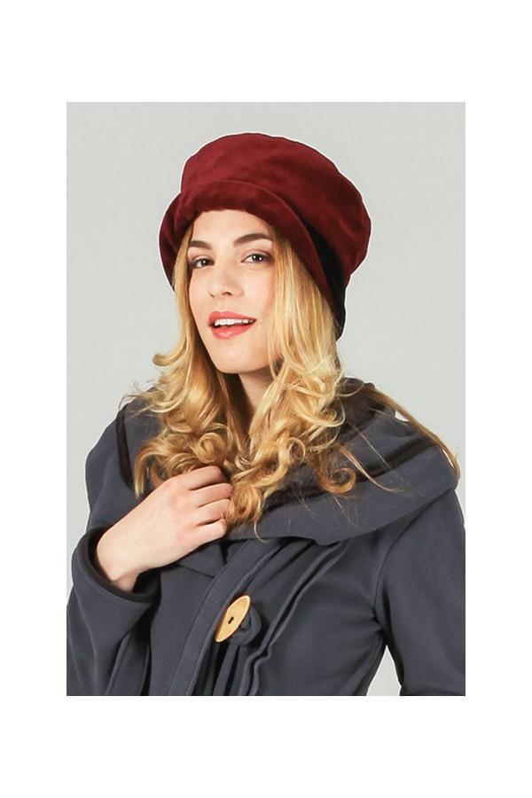 bonnet coton adulte femme rouge aller simplement