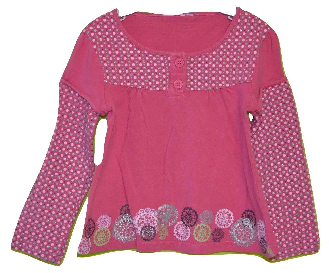 polo manches longues 4 ans fille rose occasion
