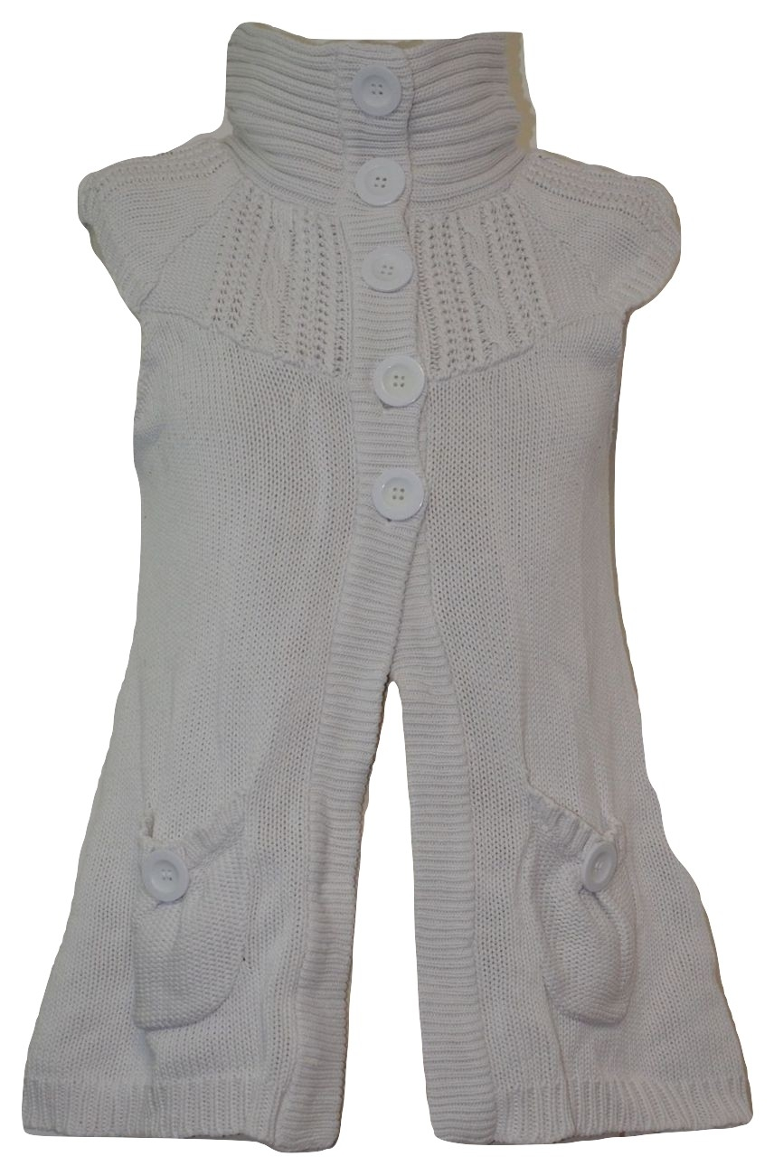 gilet femme taille 2 spot for you blanc occasion