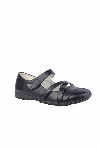 Chaussure plate femme chaussures derbies femme noir Max shoes a12