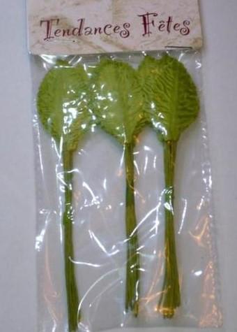 36 feuilles tissu - menthe