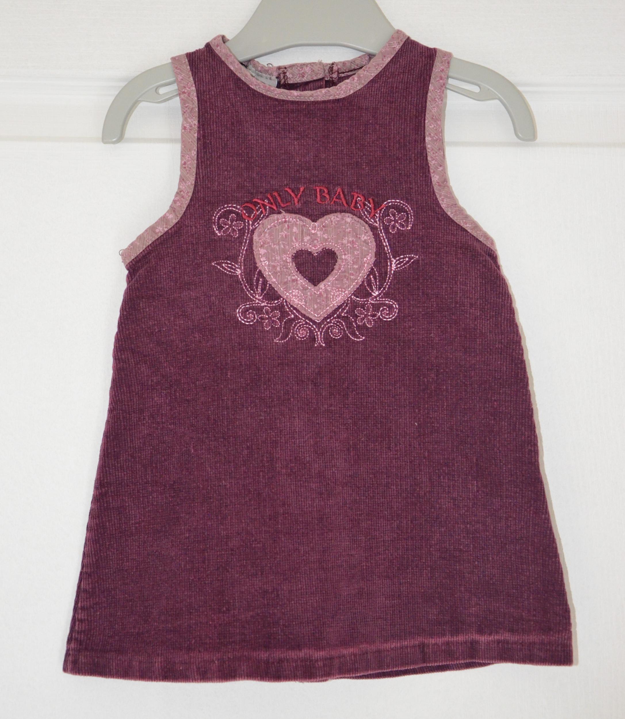robe fille 12 mois tout compte fait violet