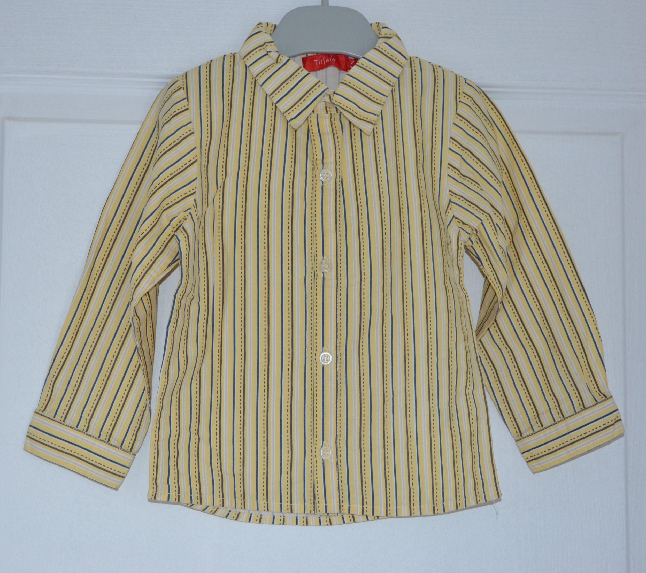 chemise gars 18 mois tissaia ligne