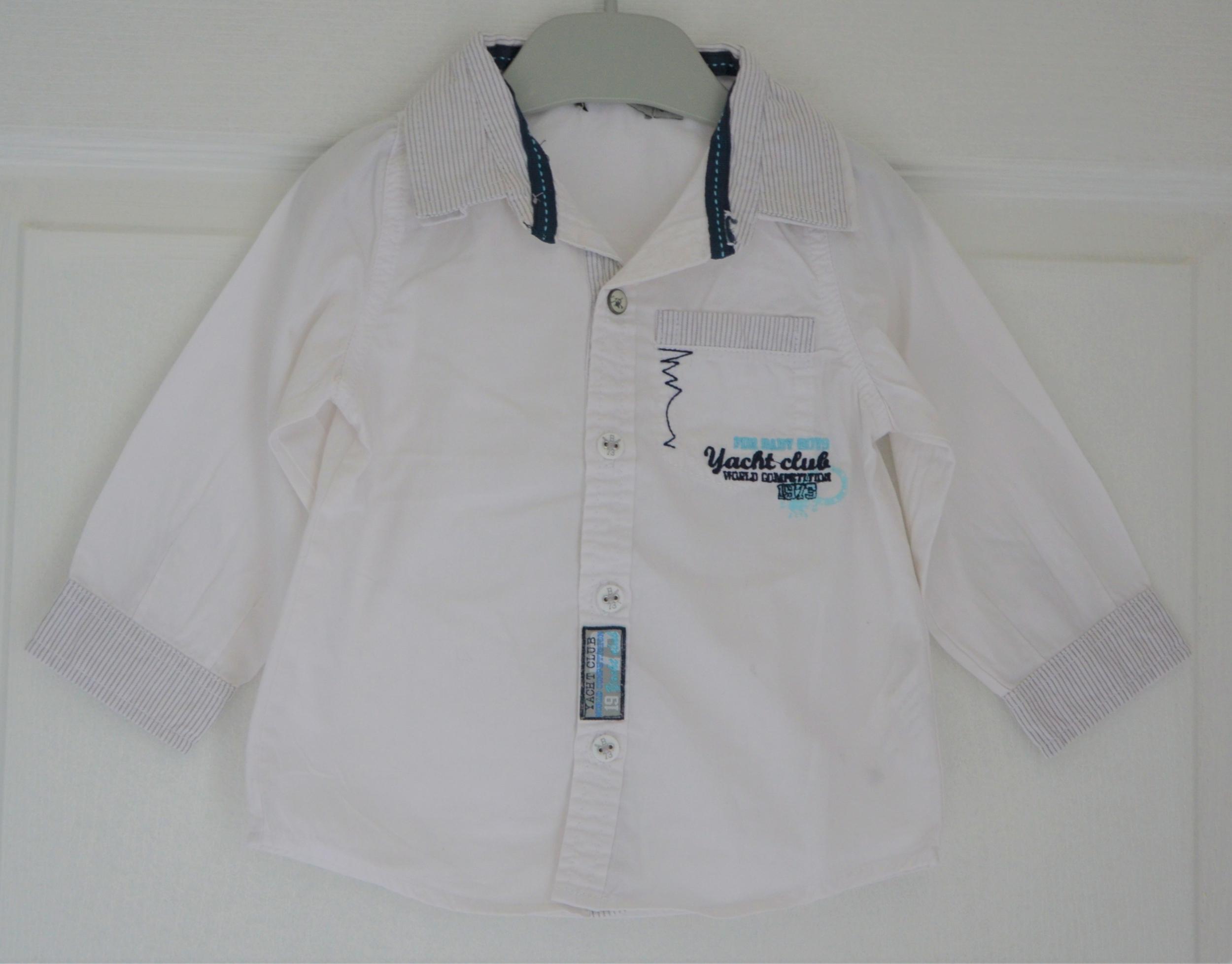 chemise blanche garçon 18 mois tape à l\'oeil