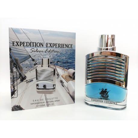 eau de toilette générique Expédition Expérience Silver Edition 100ml pour homme Georges Mezotti