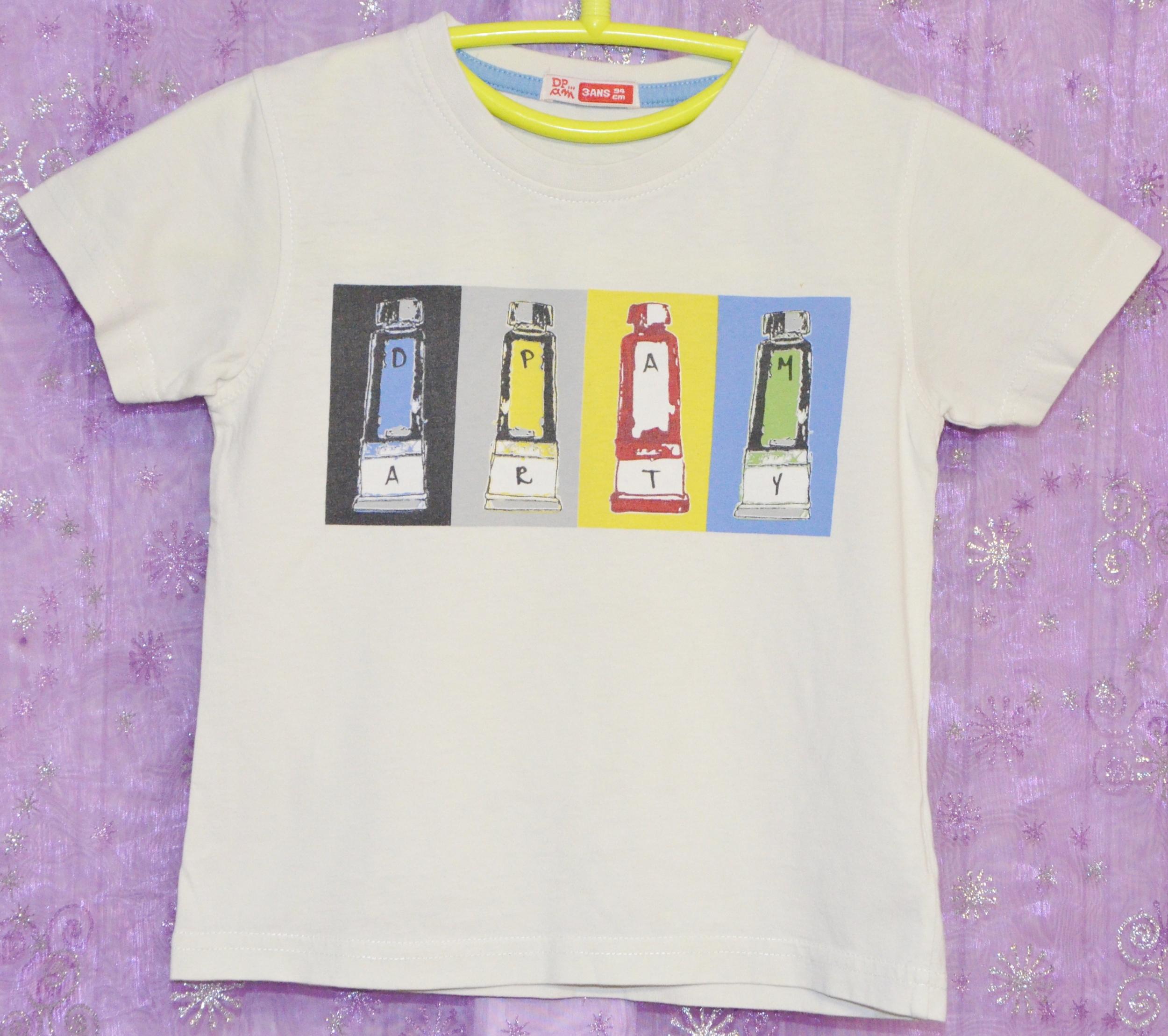 tee shirt garçon 3 ans dpam