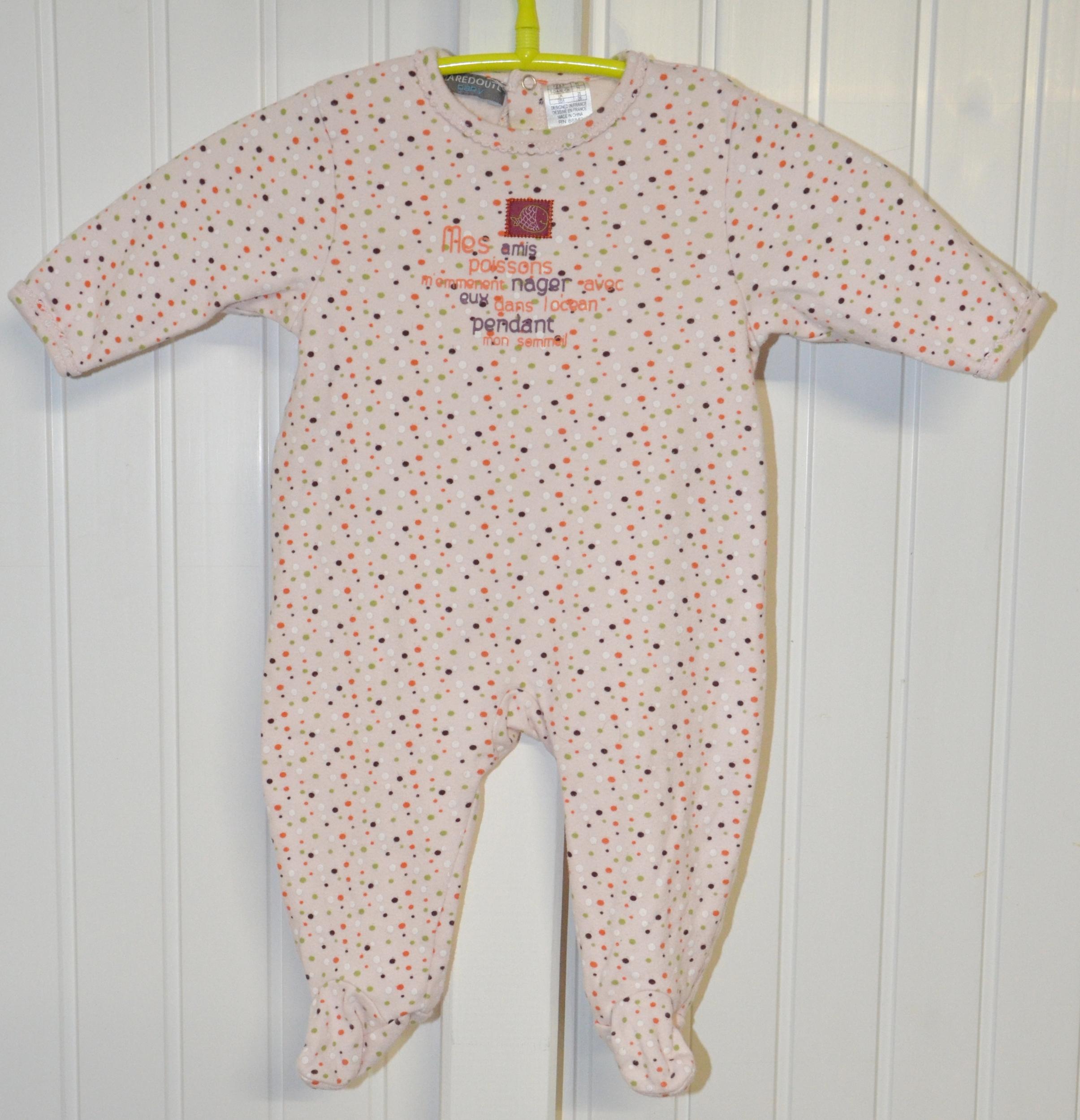 pyjama la redoute 9 mois