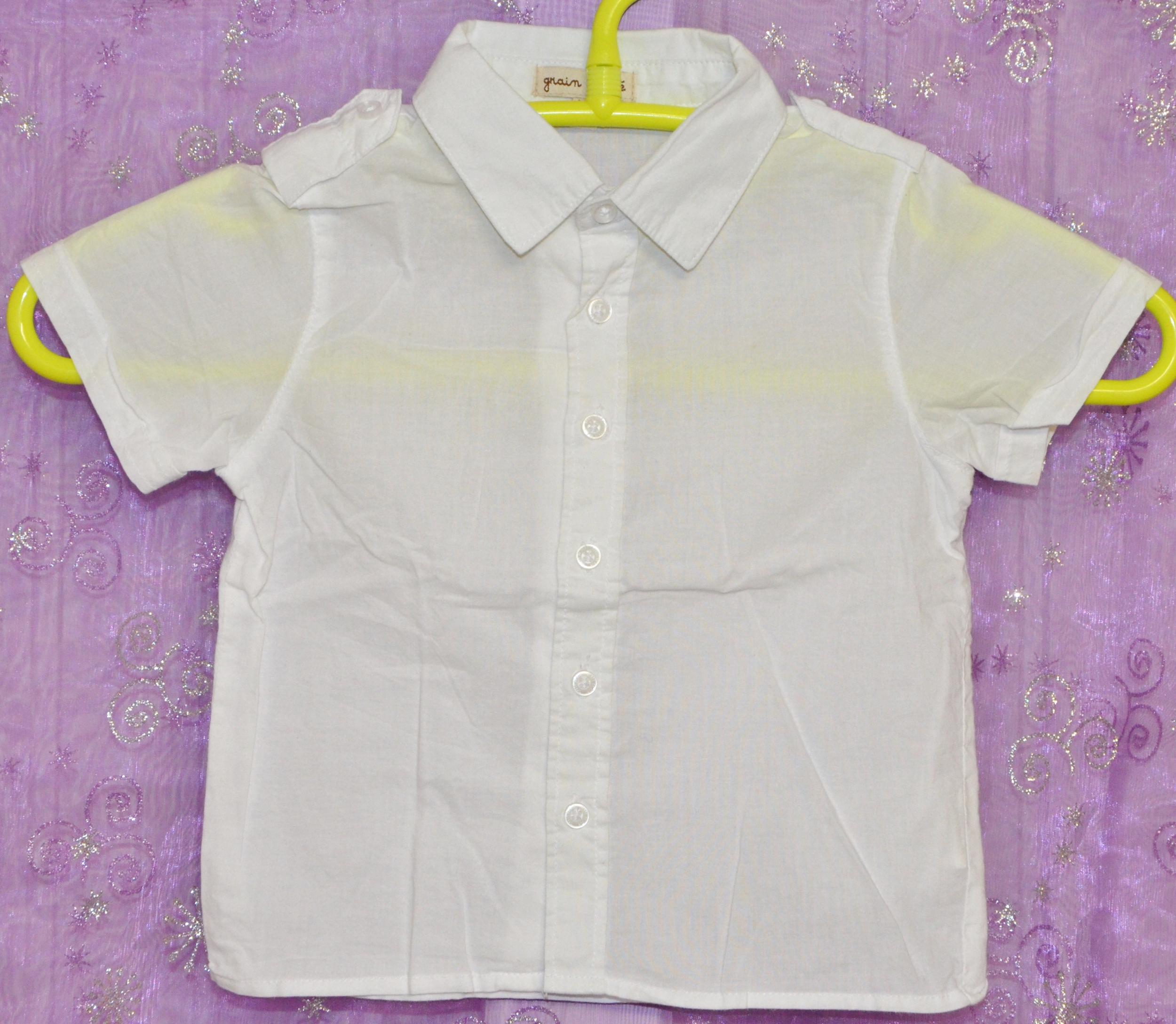 chemise garçon 6 mois grain de blé