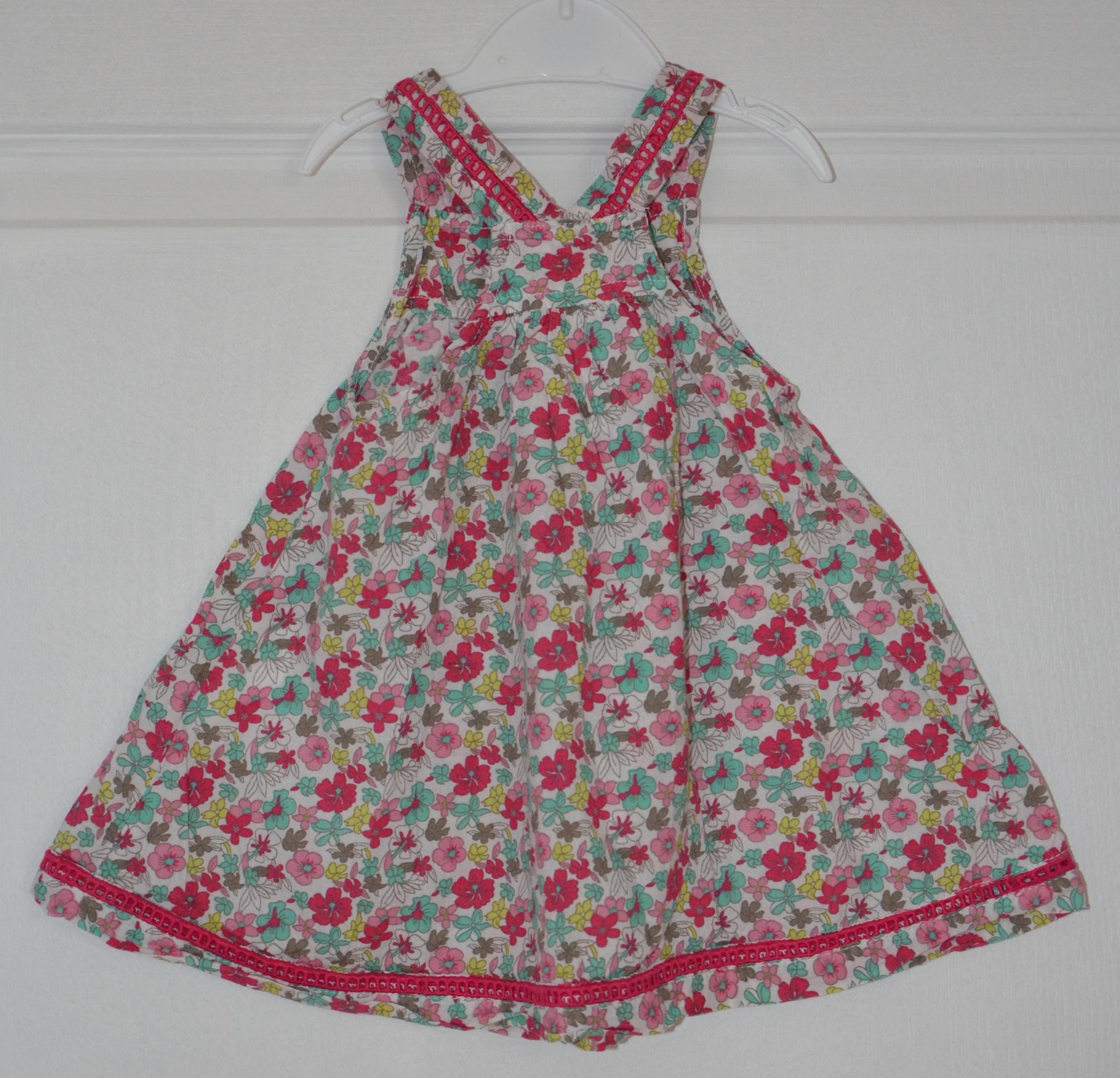 robe fille 9 mois orchestra fleuri