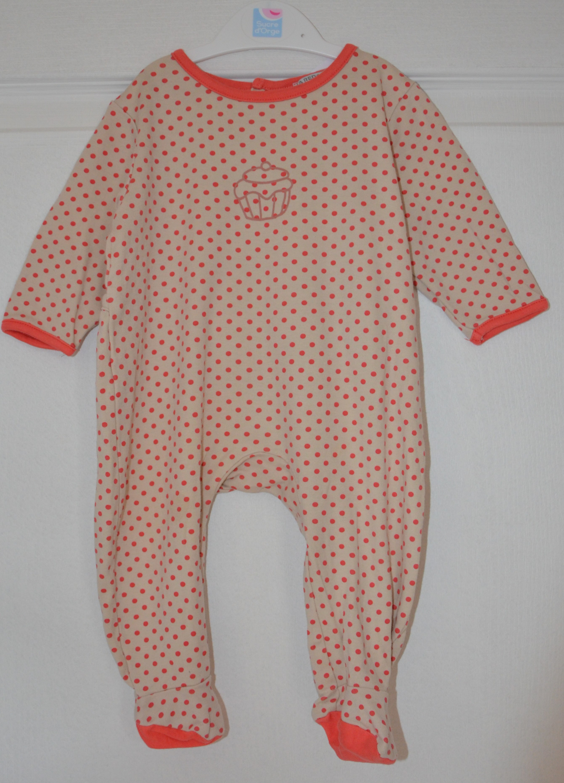pyjama fille 6 mois la redoute a pois