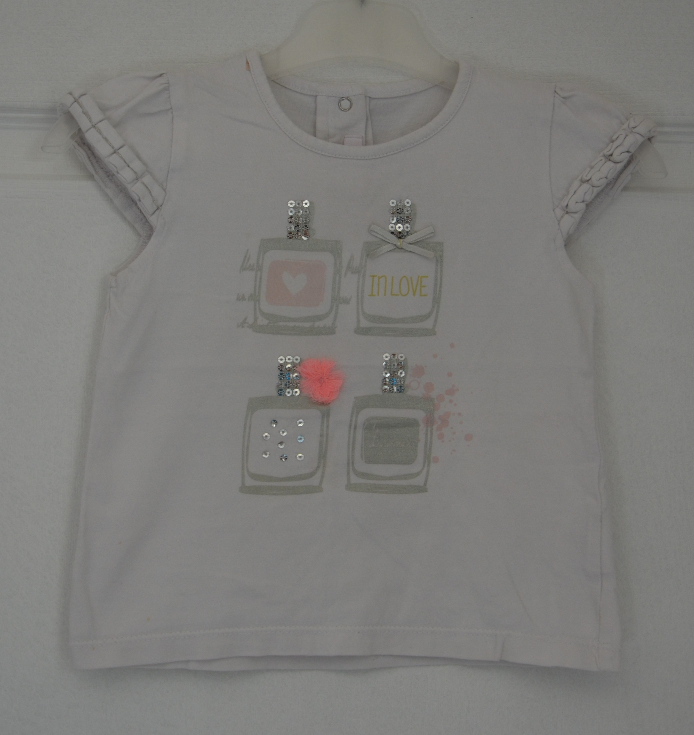 Tee shirt fille 24 mois Gemo in love vetement bebe occasion