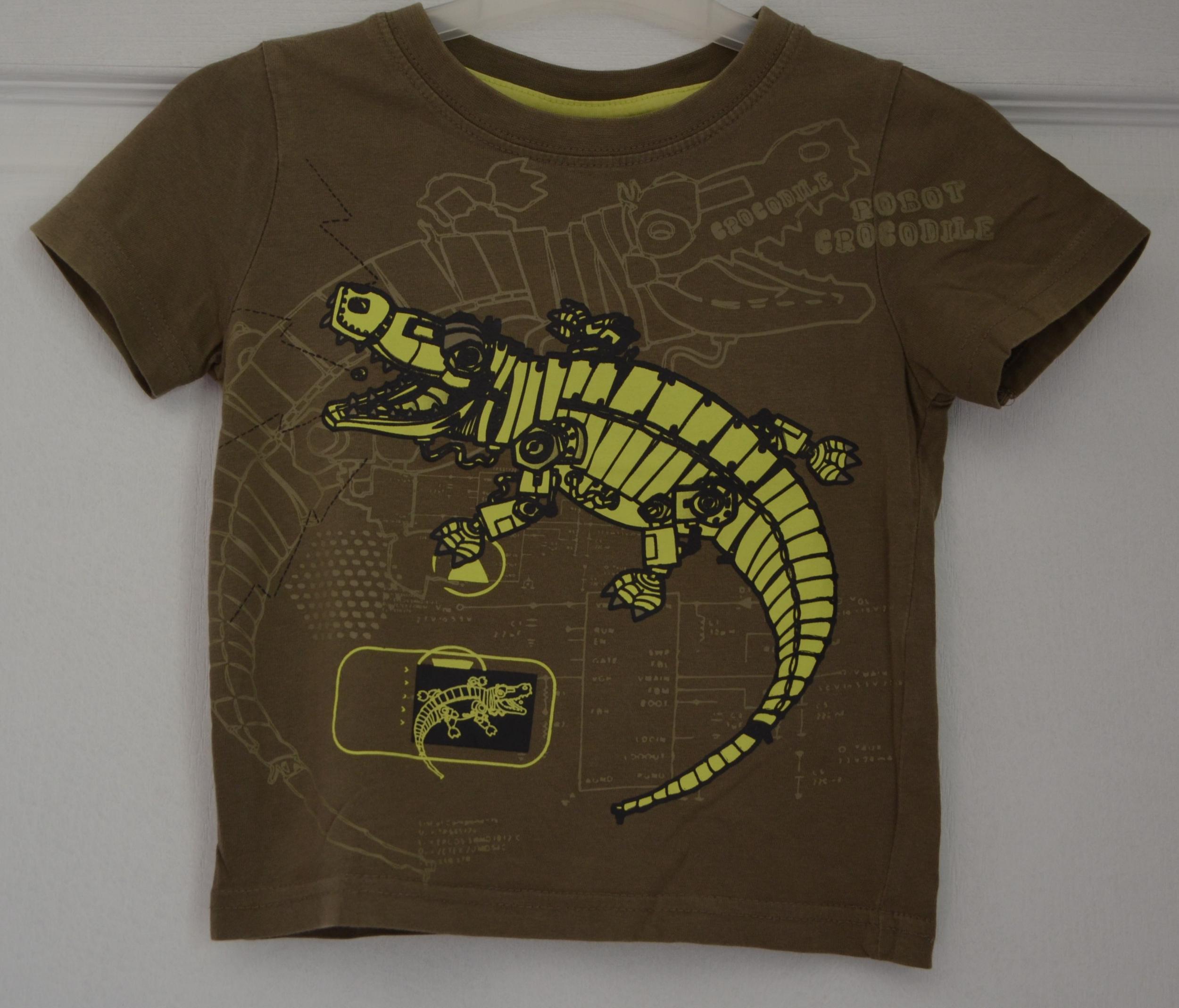 tee shirt gars 24 mois nky kaki vetement bebe occasion
