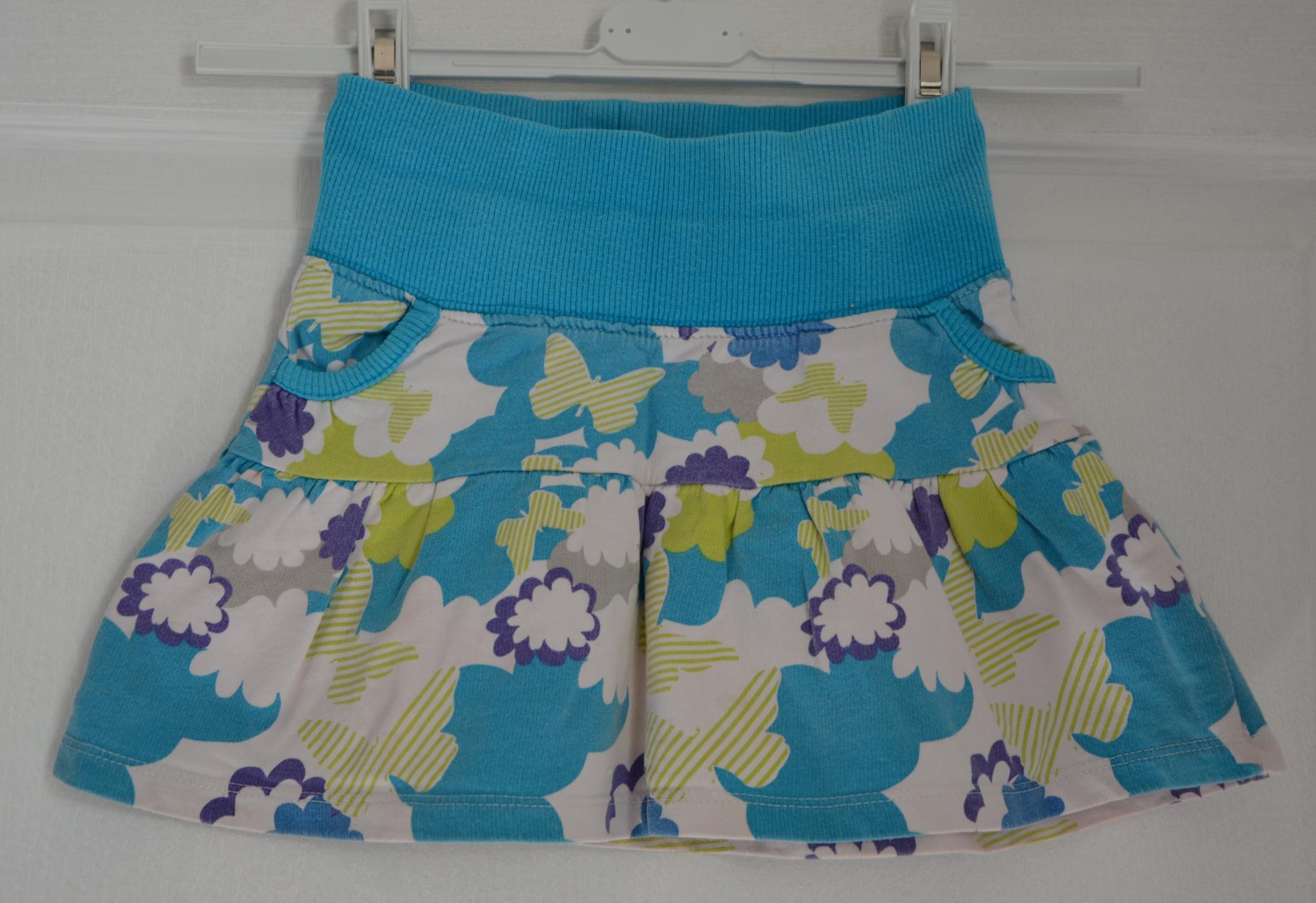 jupe bleu turquoise fille 4 ans zara