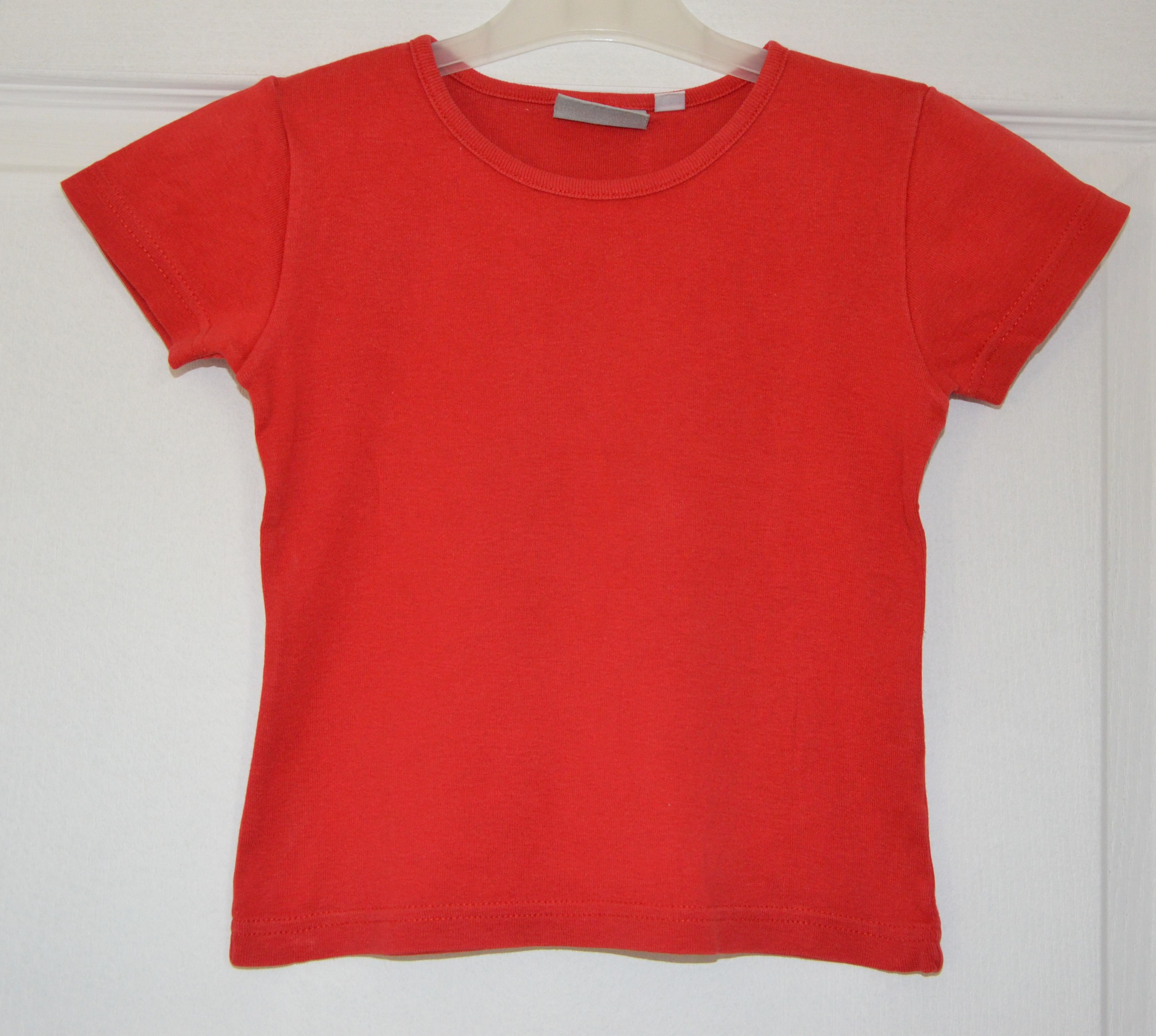tee shirt rouge fille 6 ans 3 suisses