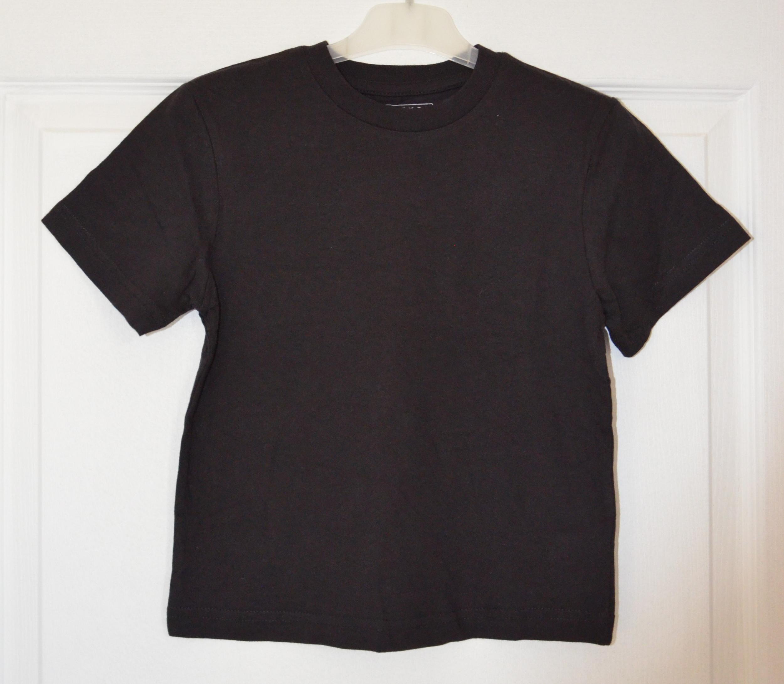 tee shirt noir garçon 6 ans domyos