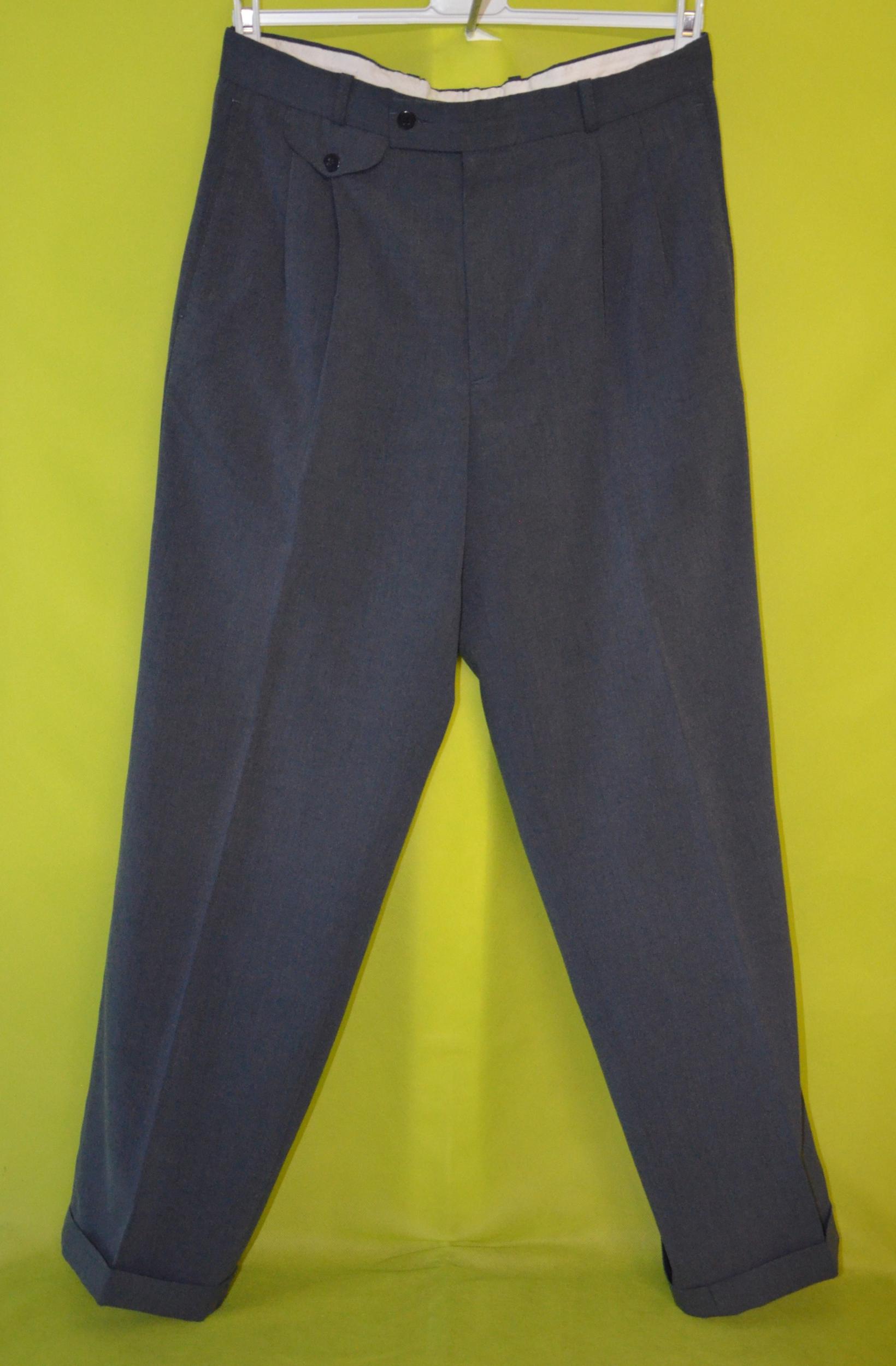 Friperie en ligne femme pantalon 40 gris laurent cerrer vetement occasion femme