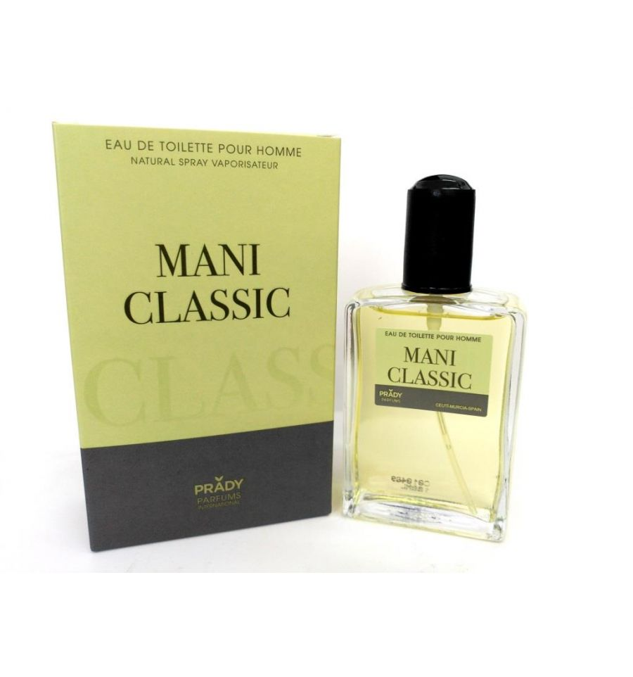 eau de toilette générique 100 ml pour homme by prady - mani classic
