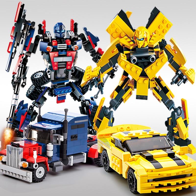 blocs de construction 2 en 1 pièces JOY-JOYTOWN 8711 divers modèles