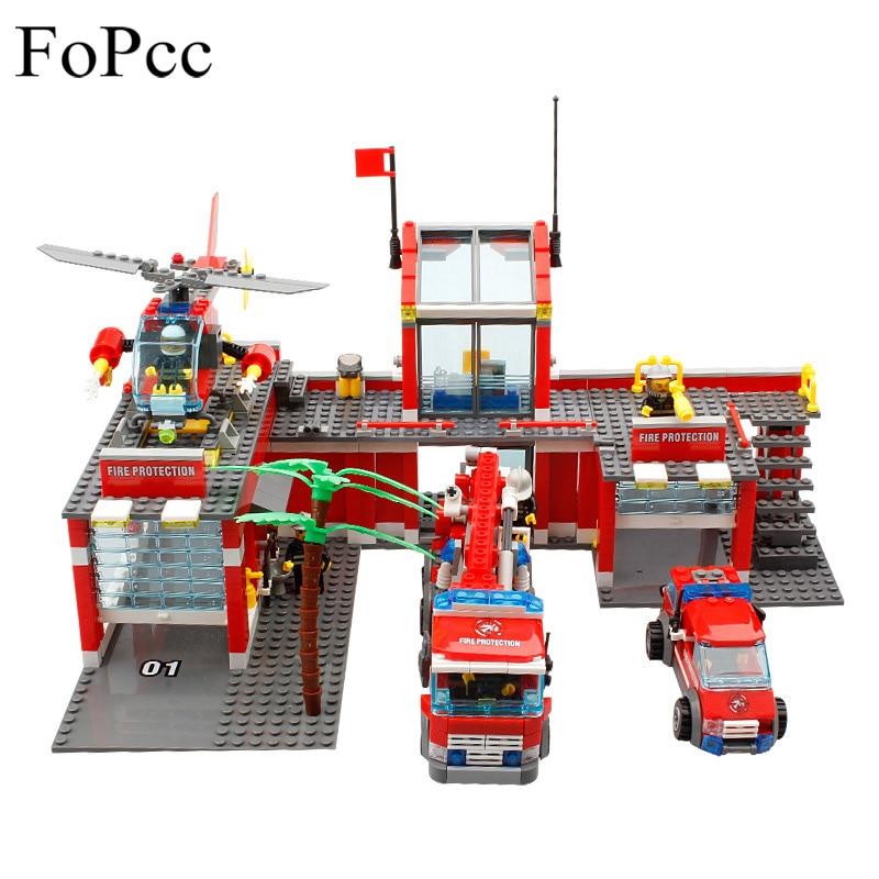 blocs de construction 774 pièces fopcc 8501