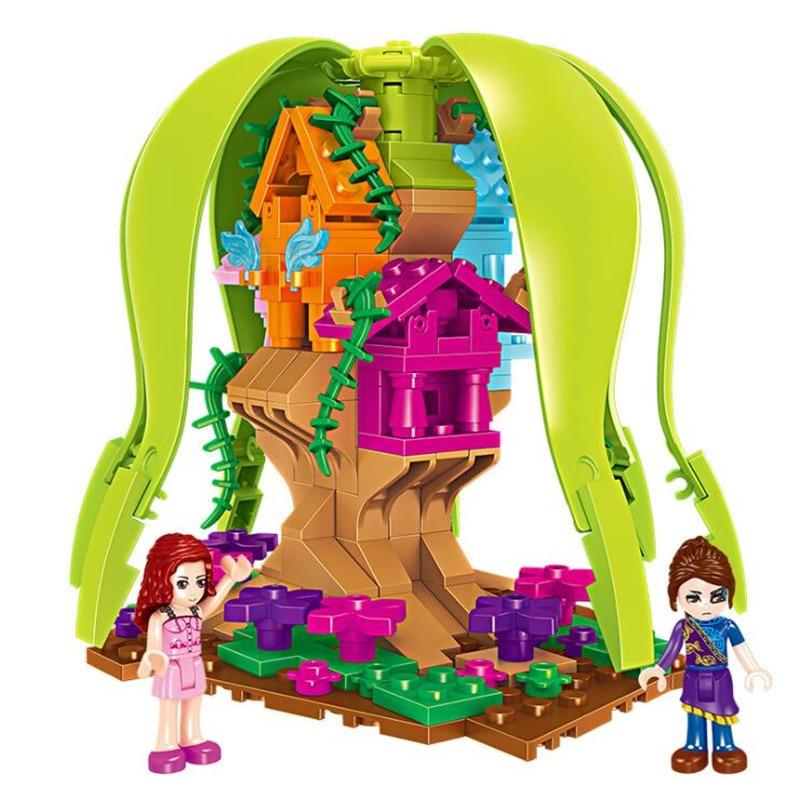 Blocs De Construction Type Lego Luoli Pays Des Merveilles 221 Pièces Joy-joytown
