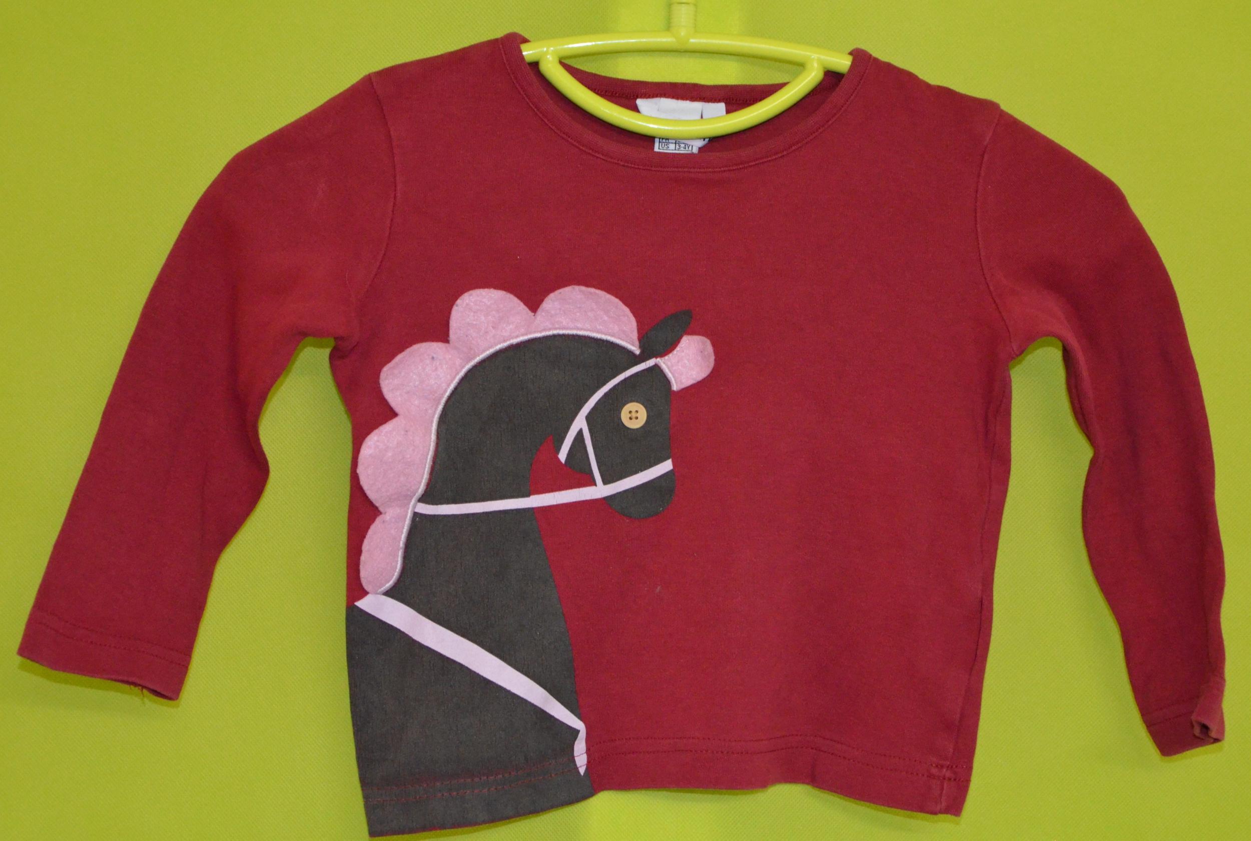 tee shirt HM 3-4 ans