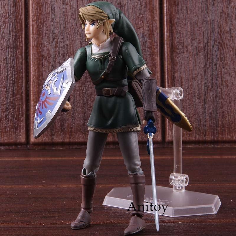 figurine link la légende de zelda 14 cm anitoy