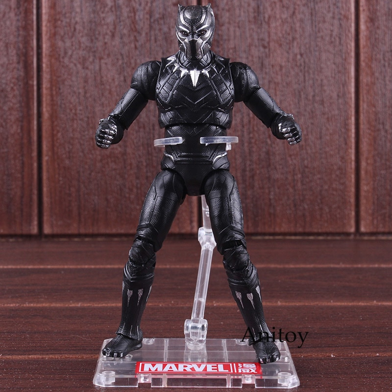 figurine black panther 18 cm anitoy
