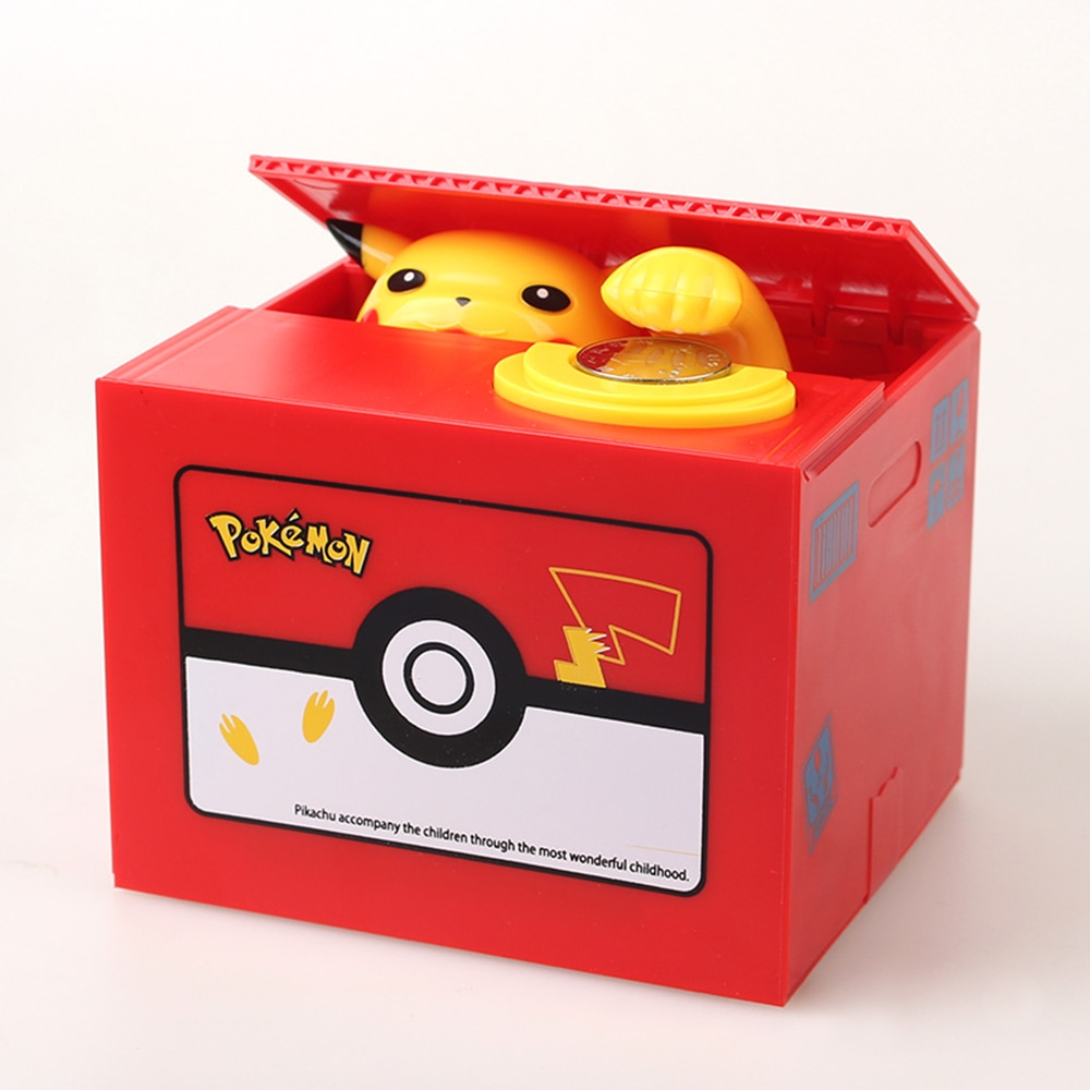 tirelire pikachu pokemon donter