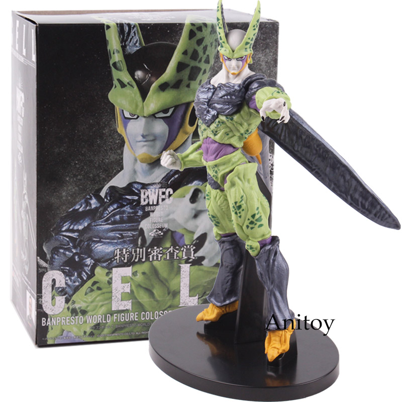 figurine cell dragon ball z 20 cm anitoy