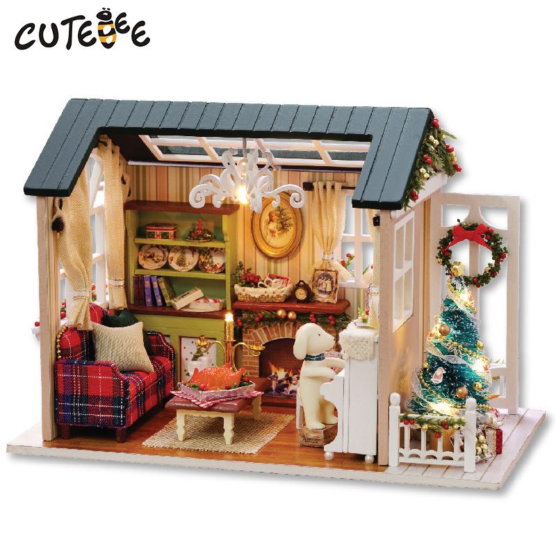 maison de poupée miniature a fabriquer cutebee z009