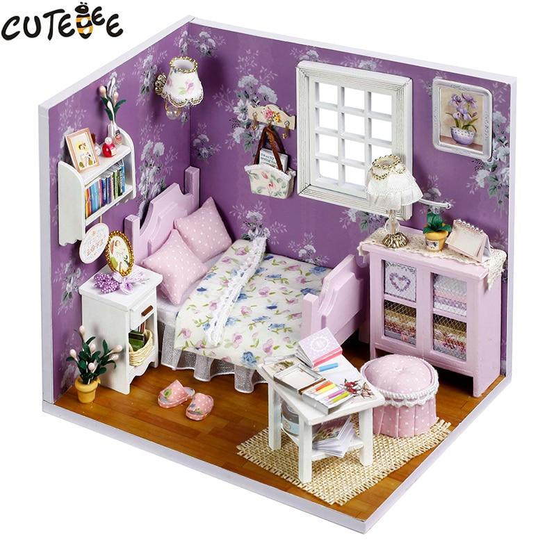 maison de poupée miniature a fabriquer cutebee h01 divers modèles