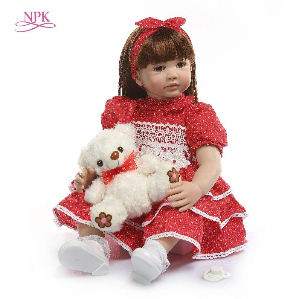 Bébé reborn fille poupee 60 cm reborn npk collection modèle 6
