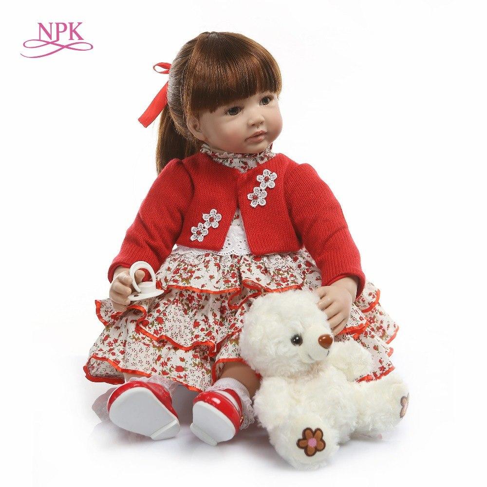 Bébé reborn fille poupee 60 cm reborn npk collection modèle 4