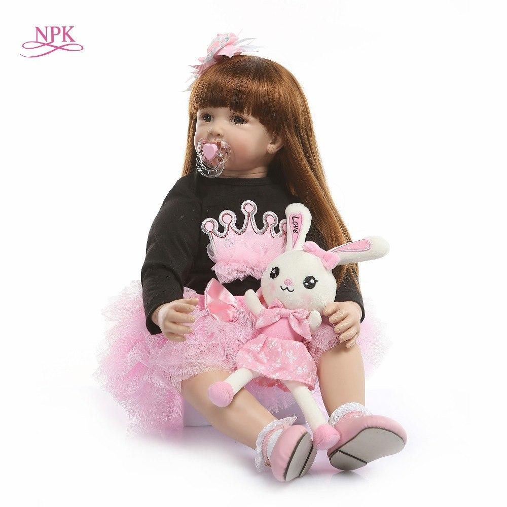 Bébé reborn fille poupee 60 cm reborn npk collection modèle 3