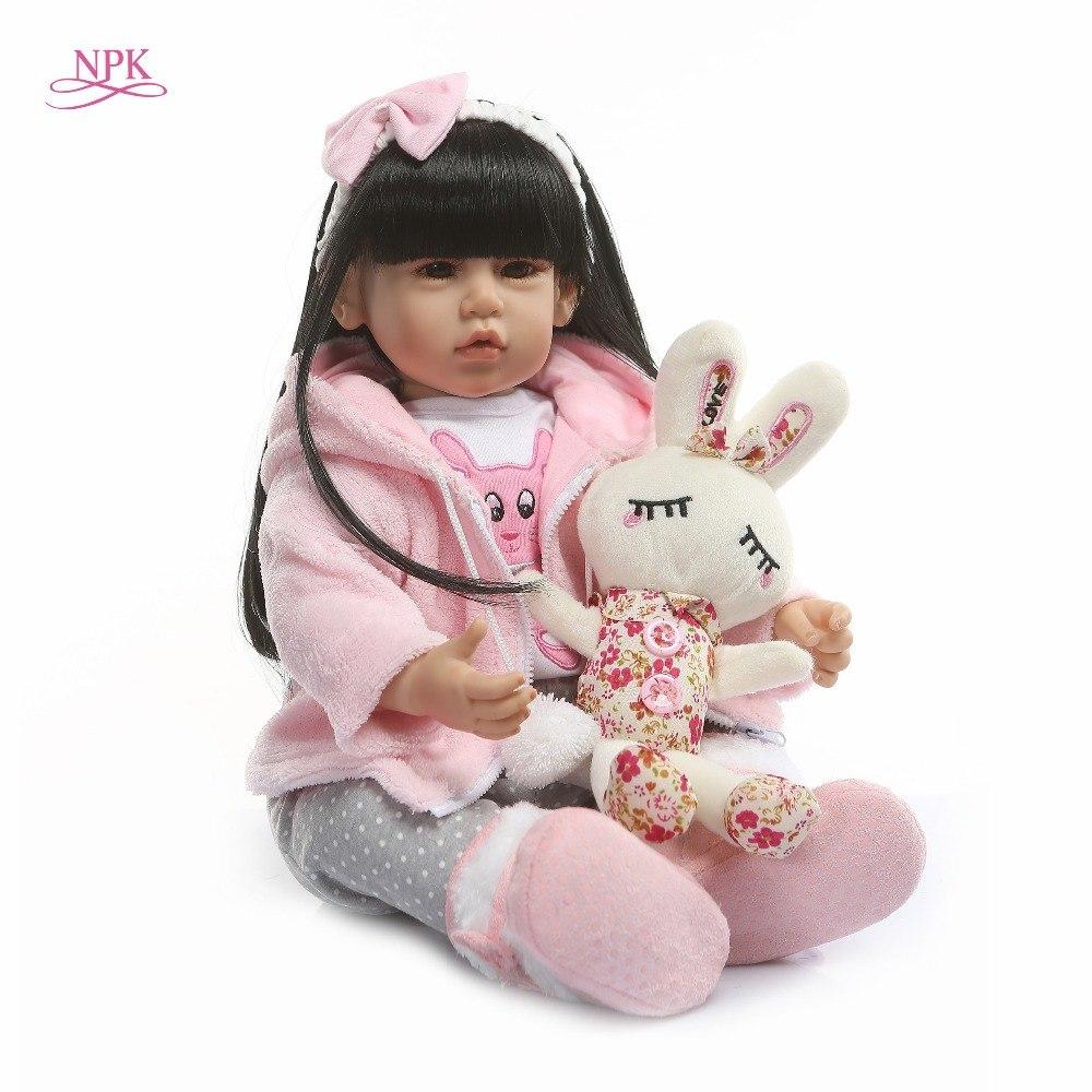 Bébé reborn fille poupee 50 cm reborn npk collection DH70311b