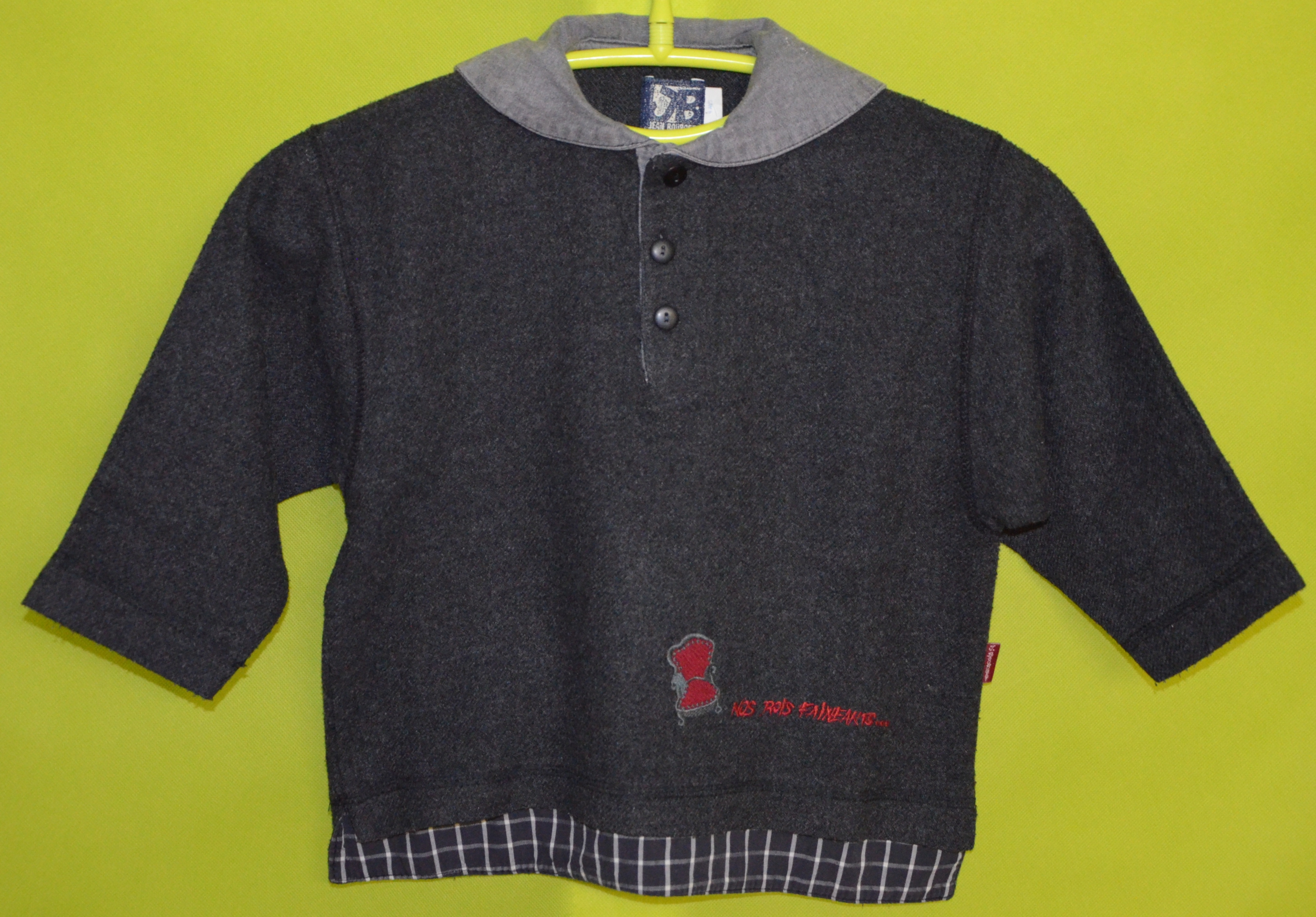 pull jean bourget 4 ans