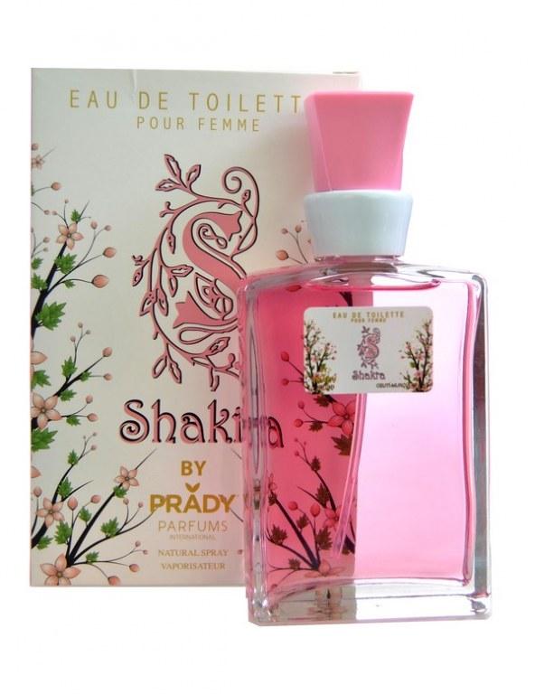 eau de toilette générique 100 ml pour femme by prady - 6558 shakra