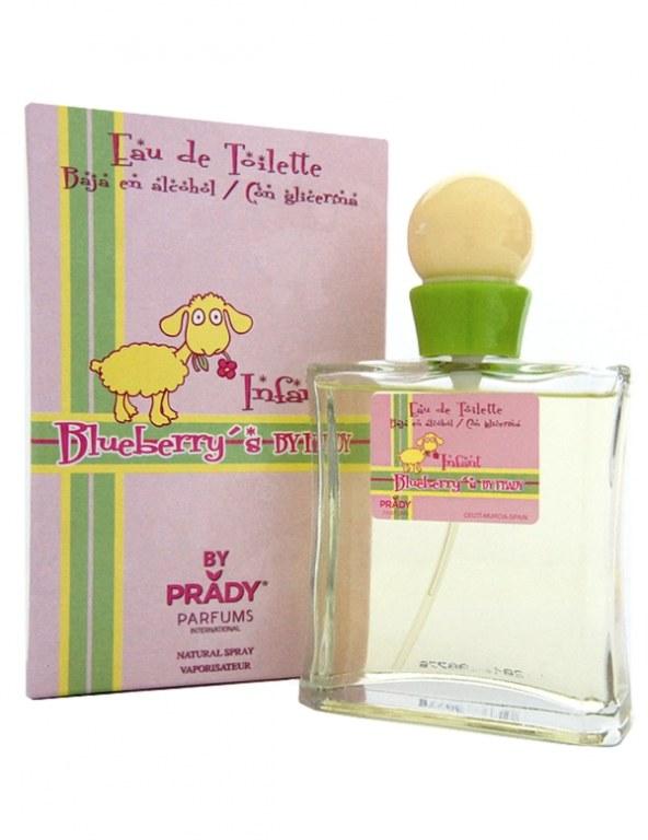 eau de toilette générique 100 ml pour enfant by prady - 15495 blueberry\'s