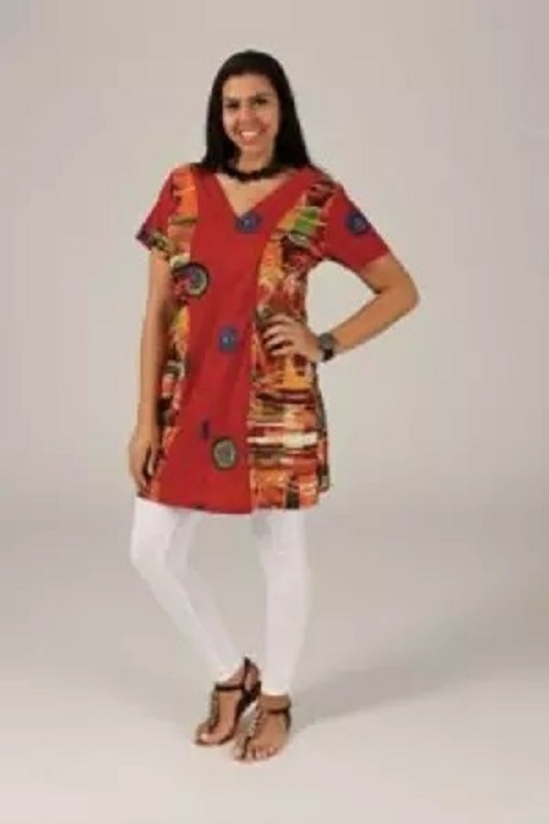 ROBE GRANDE TAILLE MANCHES COURTES 44/50 NEUF
